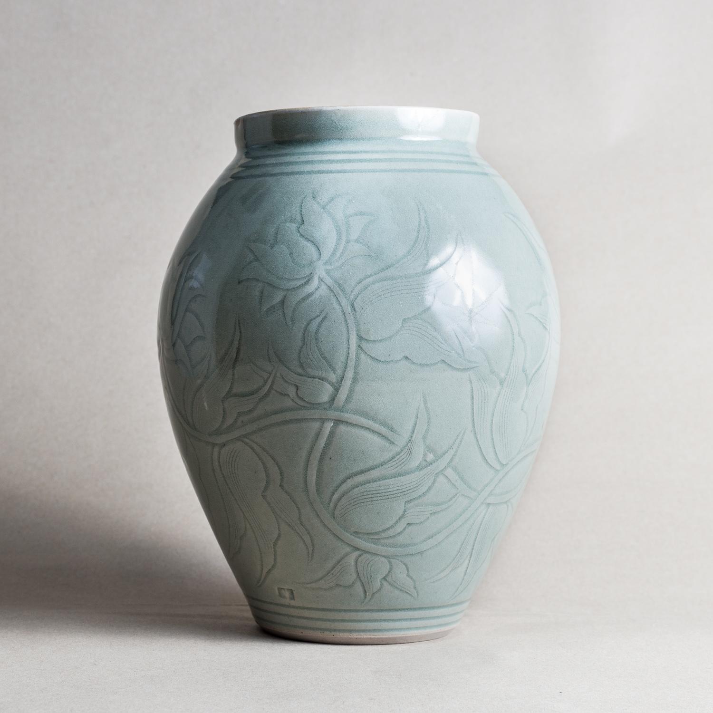 keramik vintage danish haunso keramik pottery vase with keramik perfect keramik zement optik. Black Bedroom Furniture Sets. Home Design Ideas